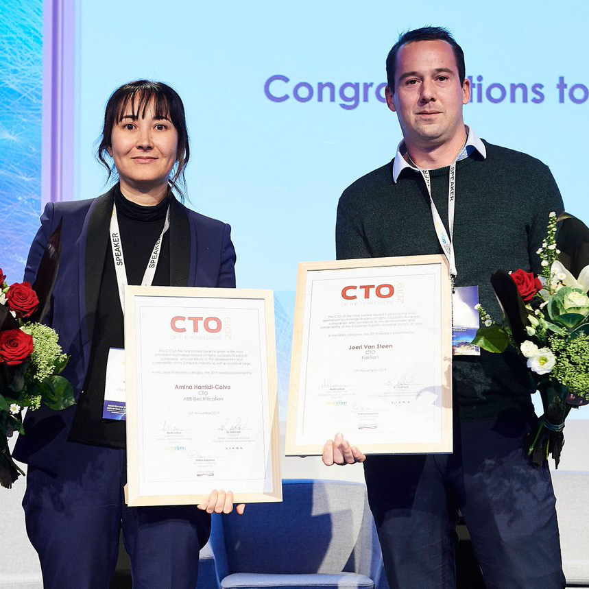 Faktion CTO becomes European CTO of the Year